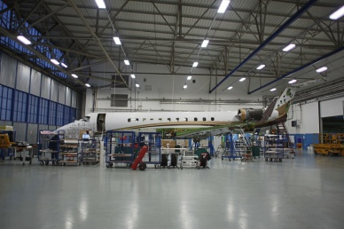 ABS Jets achieved a 25 percent reduction in time on C-Check