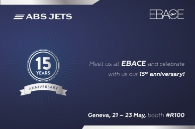 ABS Jets will celebrate its 15th anniversary at EBACE